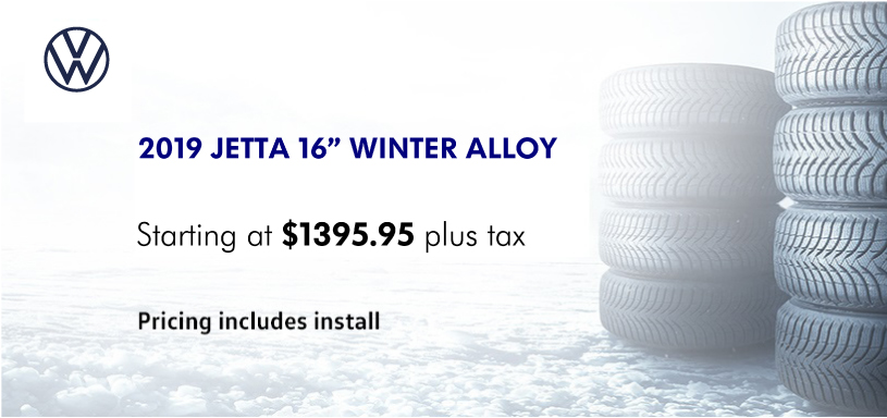 2019 Jetta 16″ Winter Alloy Rim