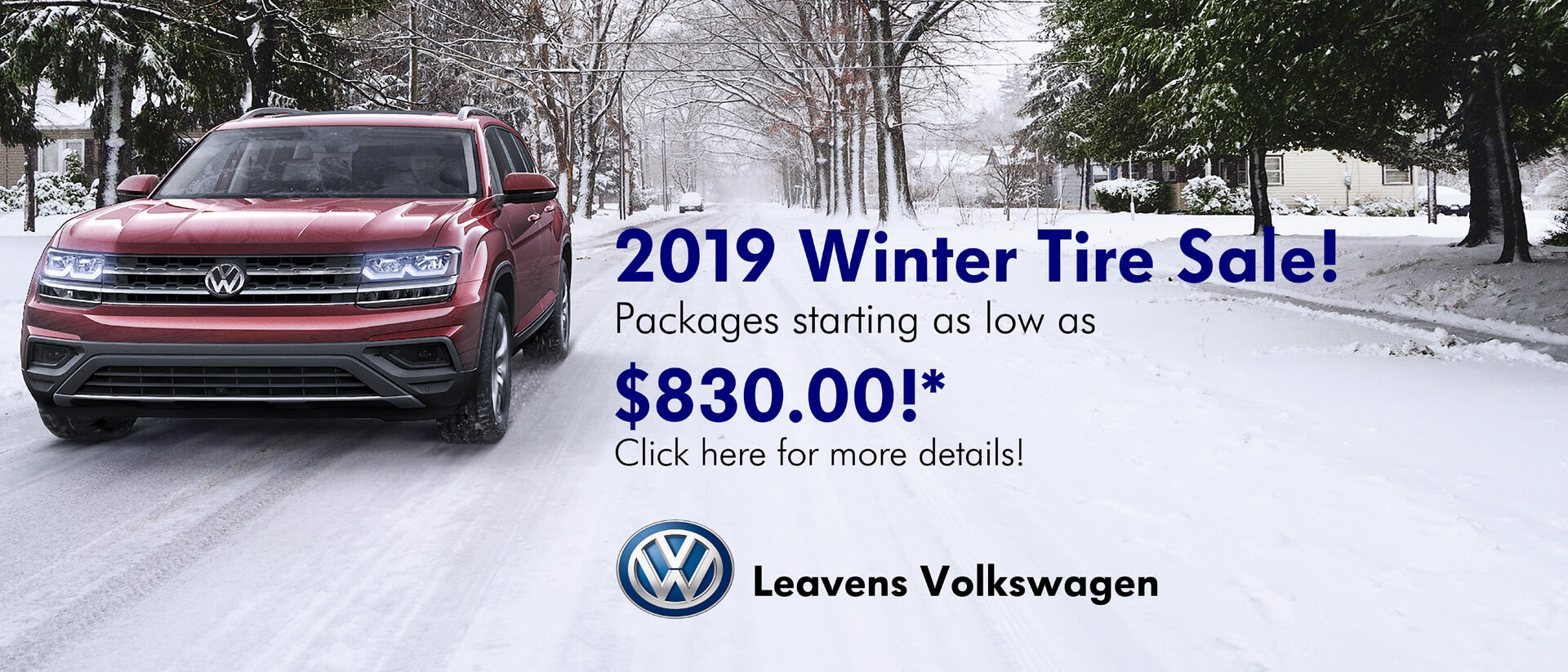 2019 Winter Tire Sale