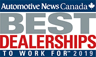 Best Dealerships to Work For 2019