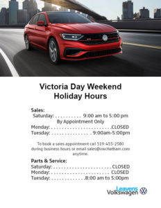 Victoria Day Hours Leavens 2020