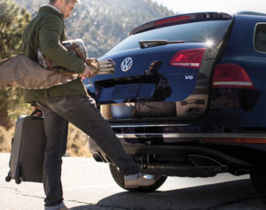 Touareg power liftgate