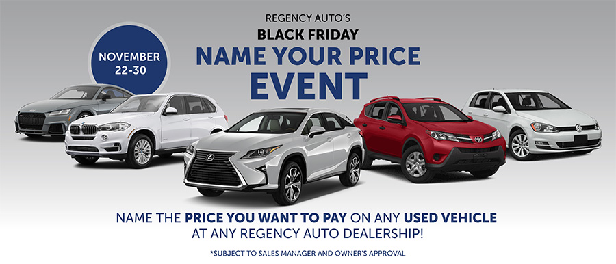 Name Your Price Event