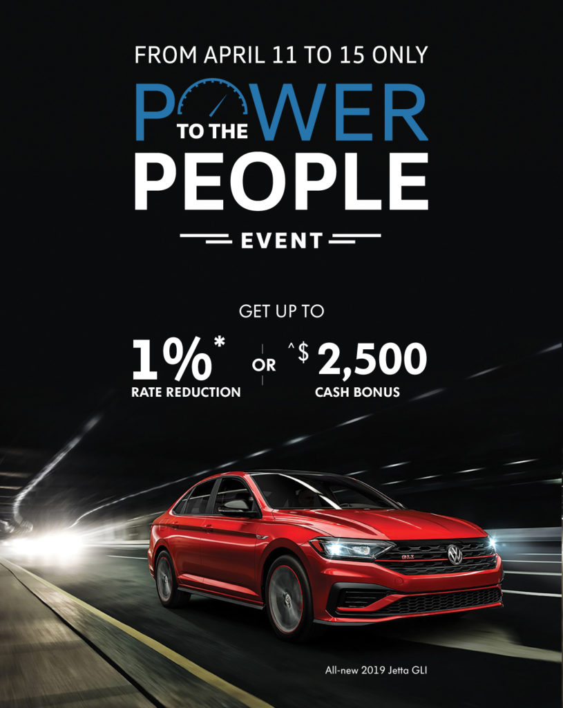 Power to the people event