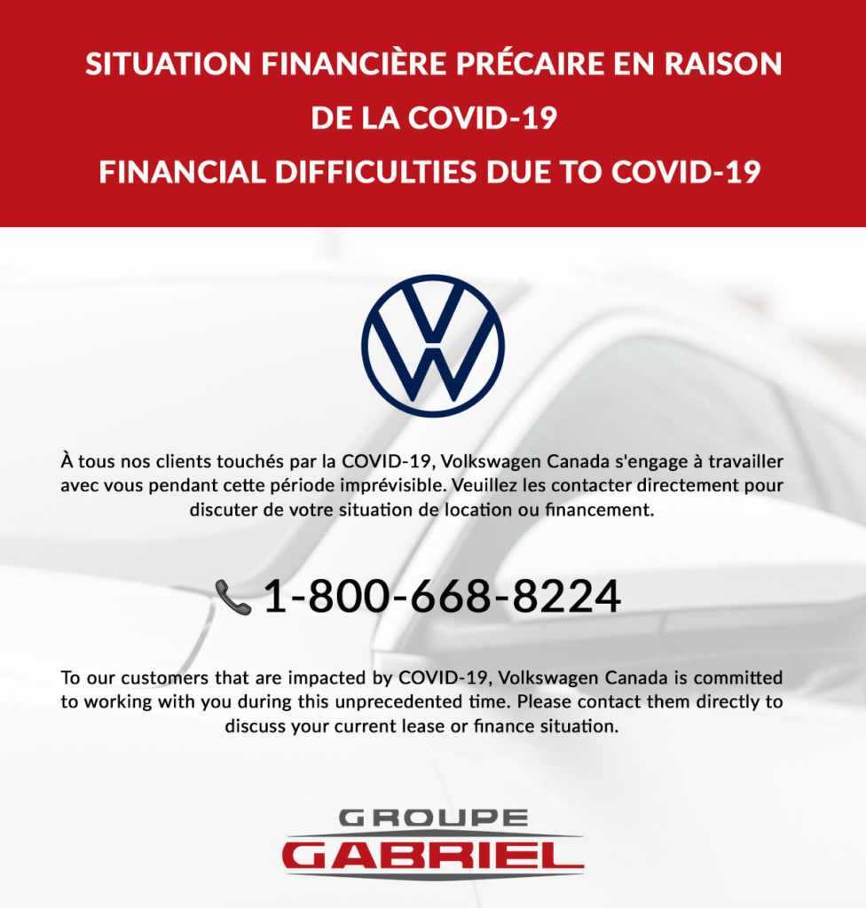 Groupegabriel Finance Covid19volkswagen