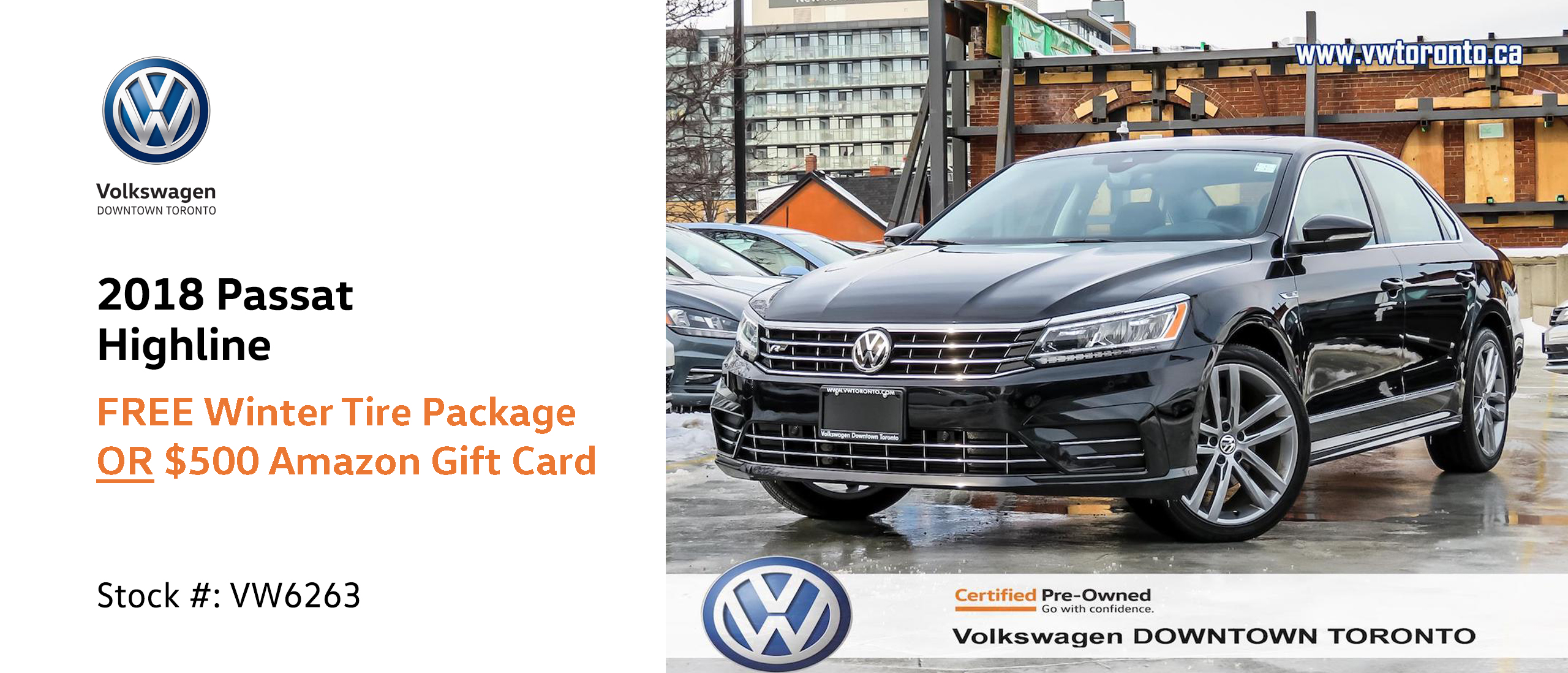 Volkswagen Downtown Toronto >> Actual Final Vw6263 Demo 2 Volkswagen Downtown Toronto