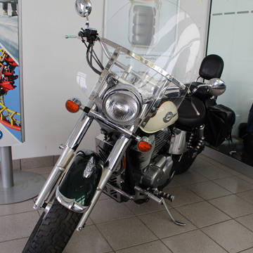 Honda Shadow Motorcycle