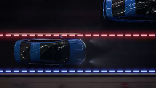 Lane assist sensor