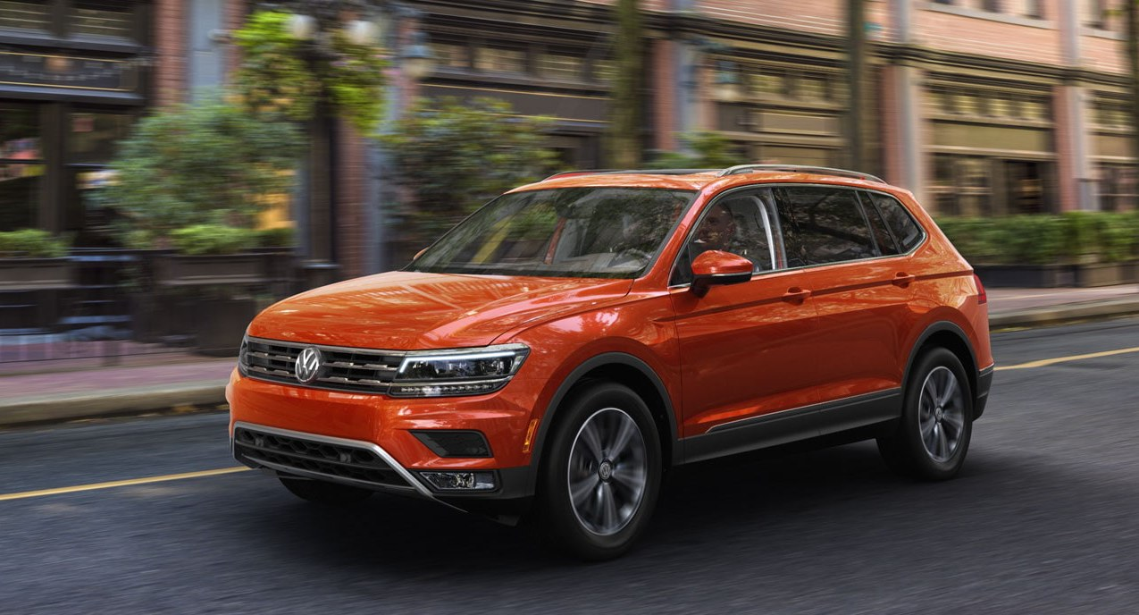 2020 Volkswagen Tiguan Orange Exterior