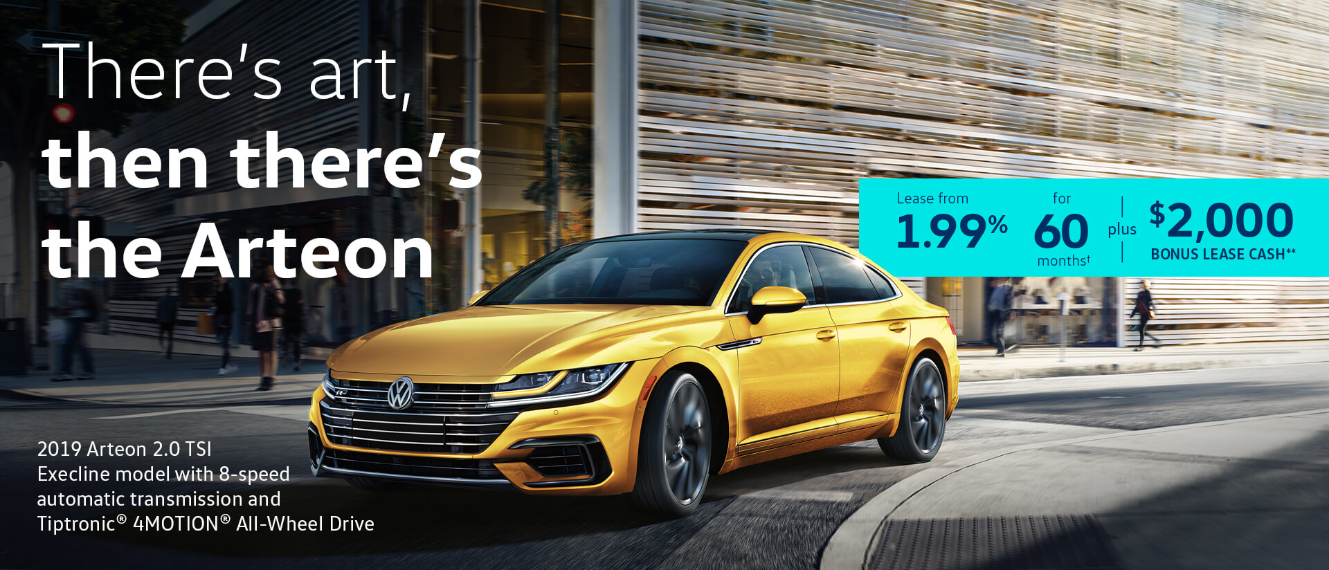 March Arteon Offer