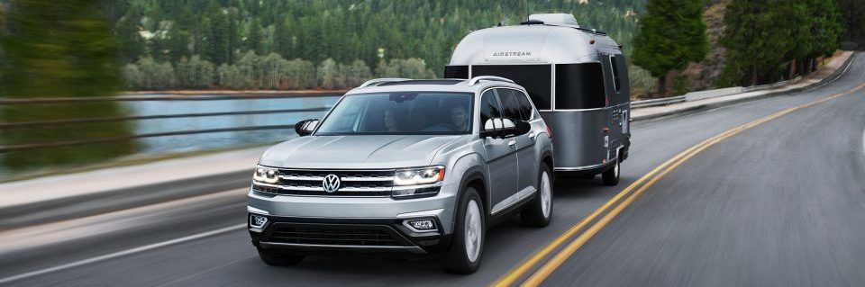 Hillcrest VW Atlas driving in halifax