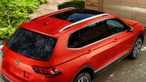 2018 Tiguan roof rails