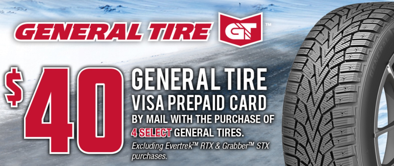 General Tire special offer