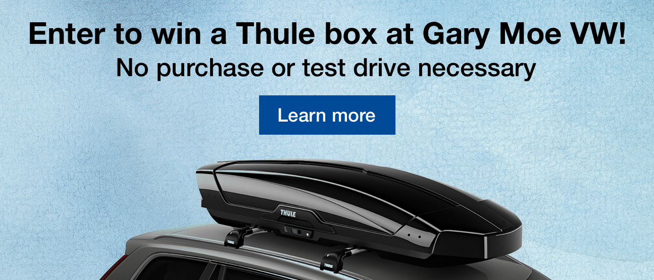 Enter to win a Thule Box