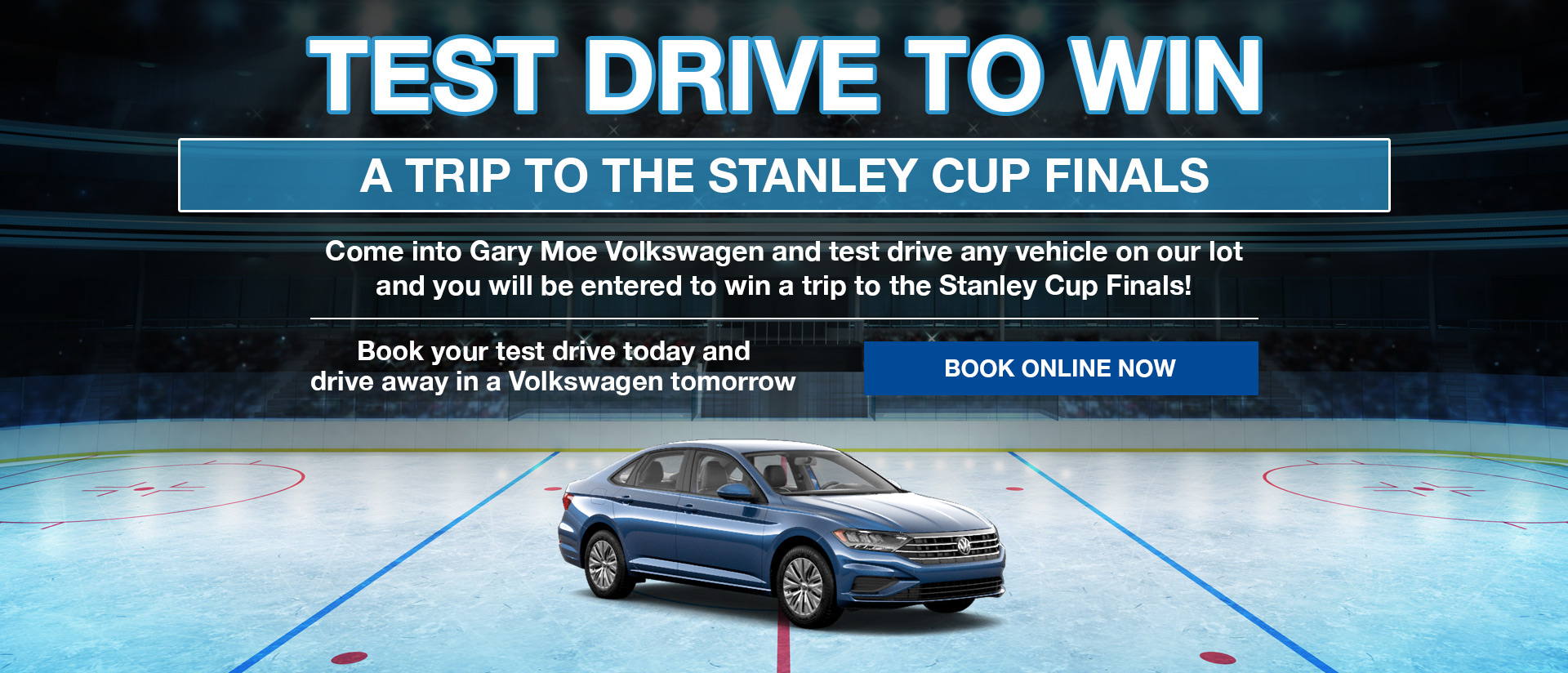 Test drive for the Stanley Cup Final