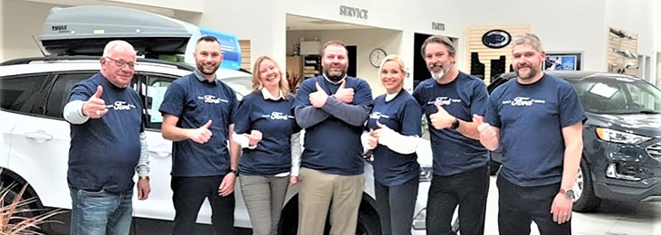 Valley Ford Hague sales staff