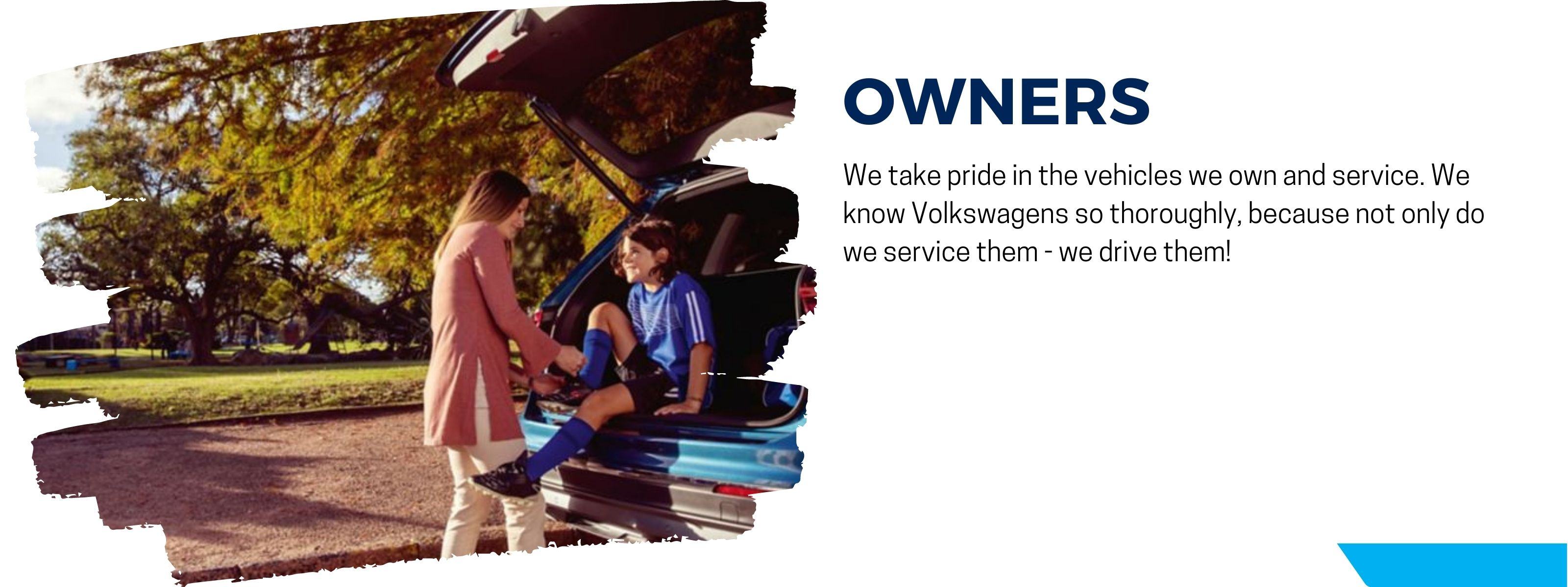 we are vw owners too