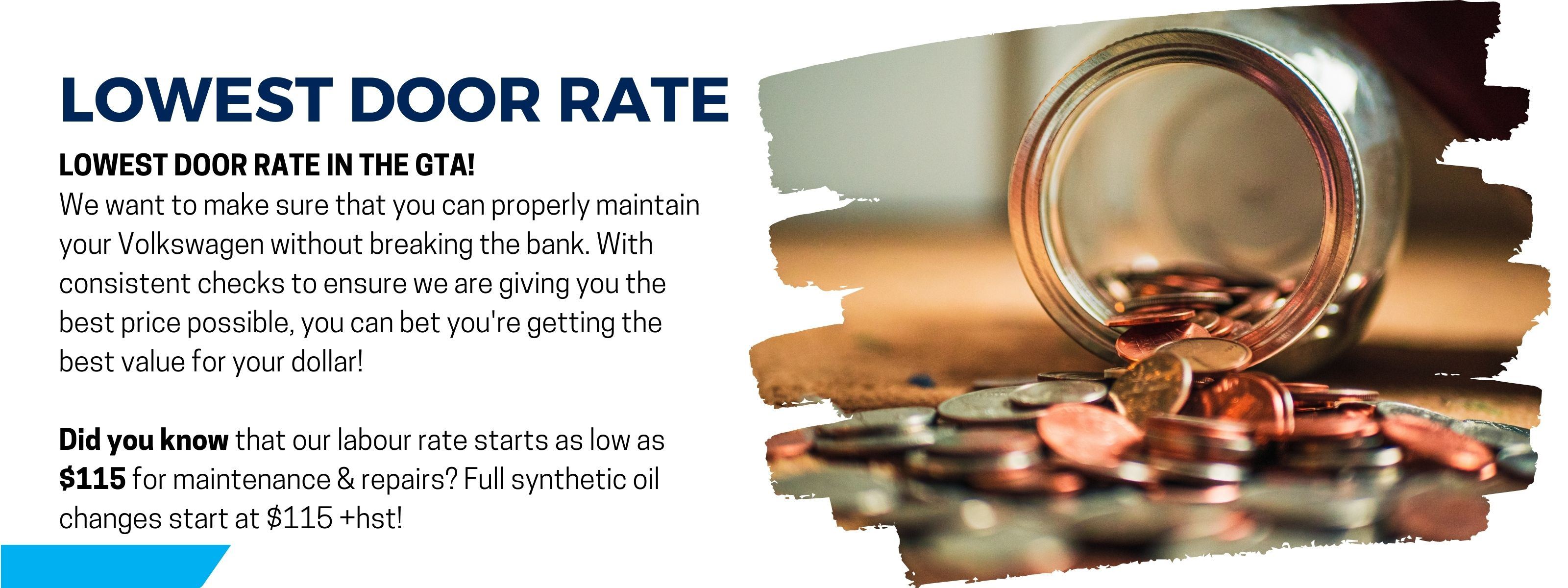 Why Choose Us Service Page, pricing, lowest door rate in the gta, best value for your dollar
