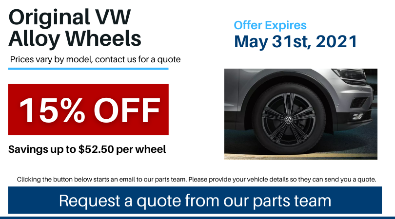 Pvw May 2021 Parts Special Alloy Wheels