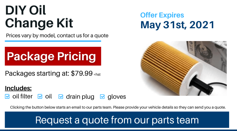Pvw May 2021 Parts Special Diy Oil Change