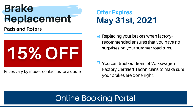Pvw May 2021 Service Special Brake Replacement