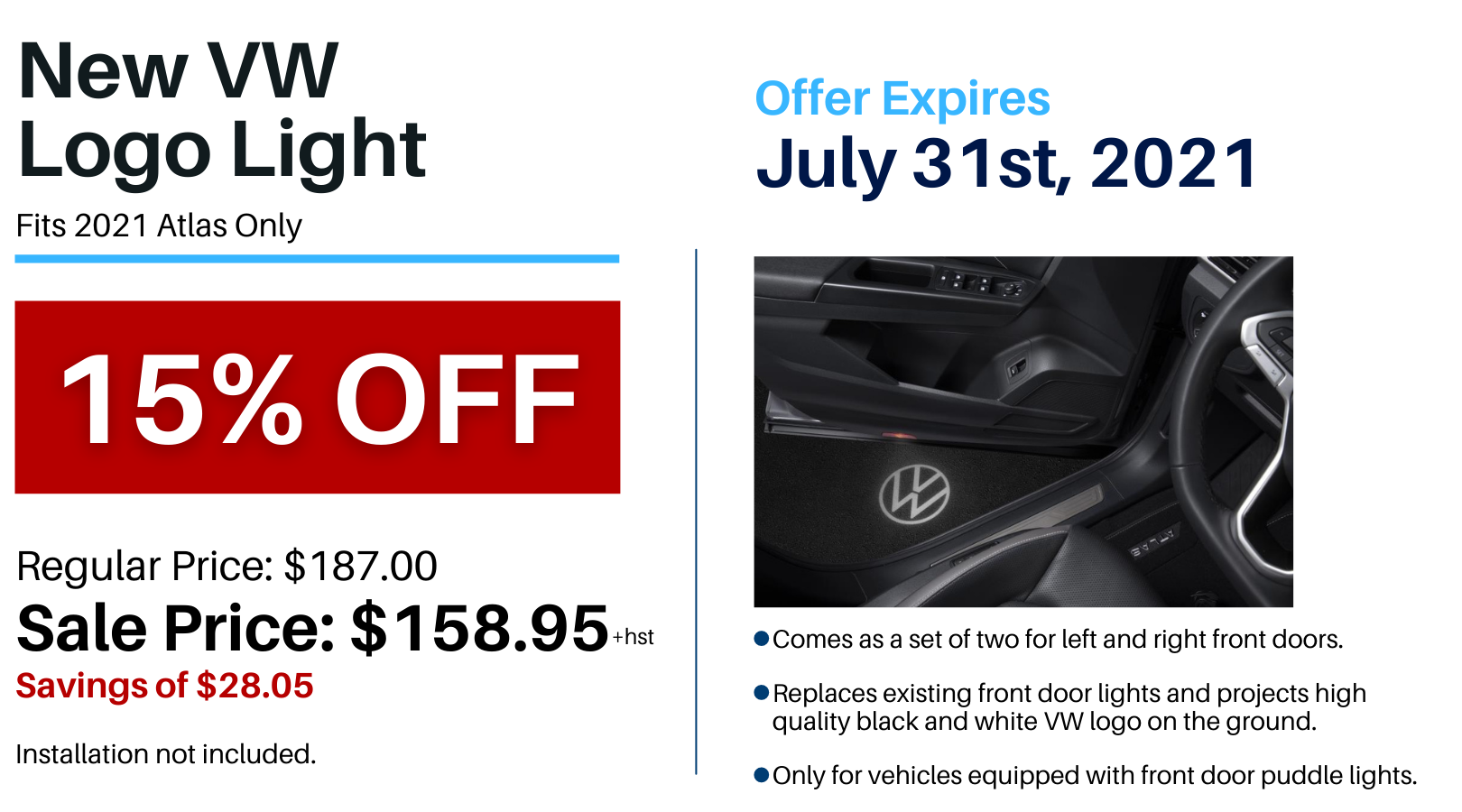 Pvw July 2021 Parts Special Puddle Light