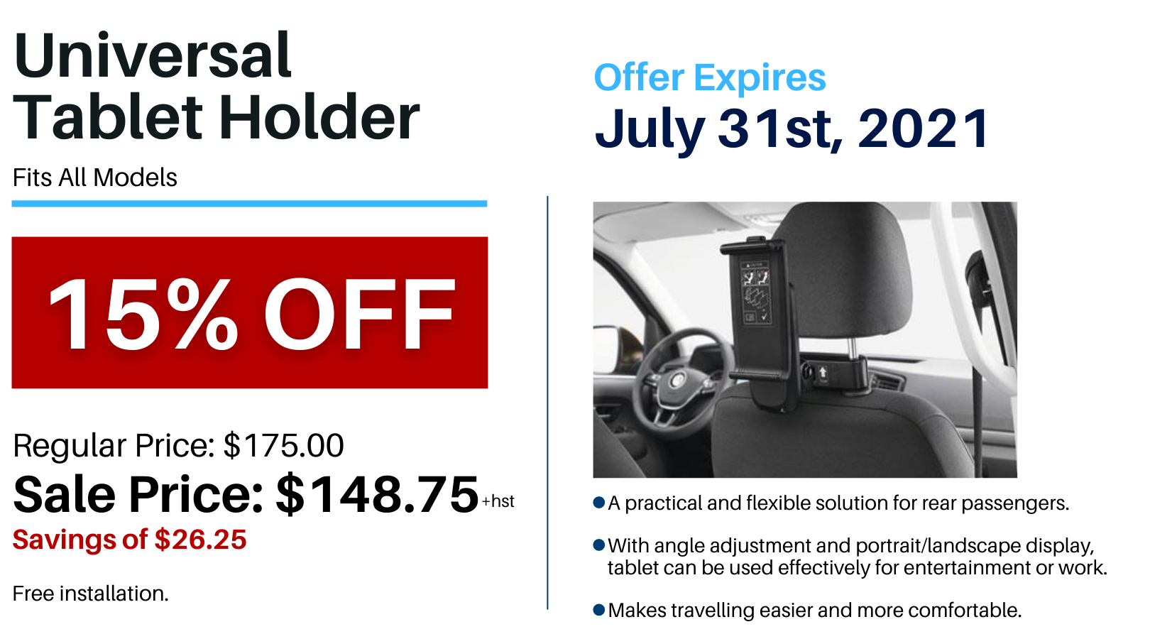Pvw July 2021 Parts Special Tablet Holder
