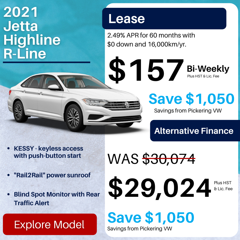 Pvw July 2021 Sales Special Jetta