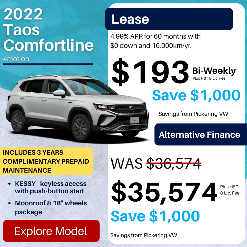 Pvw July 2021 Sales Special Taos