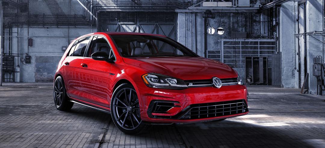 New Volkswagen Car Red Exterior