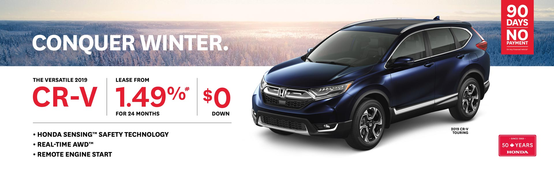 2019 February Honda CR-V OEM Offer