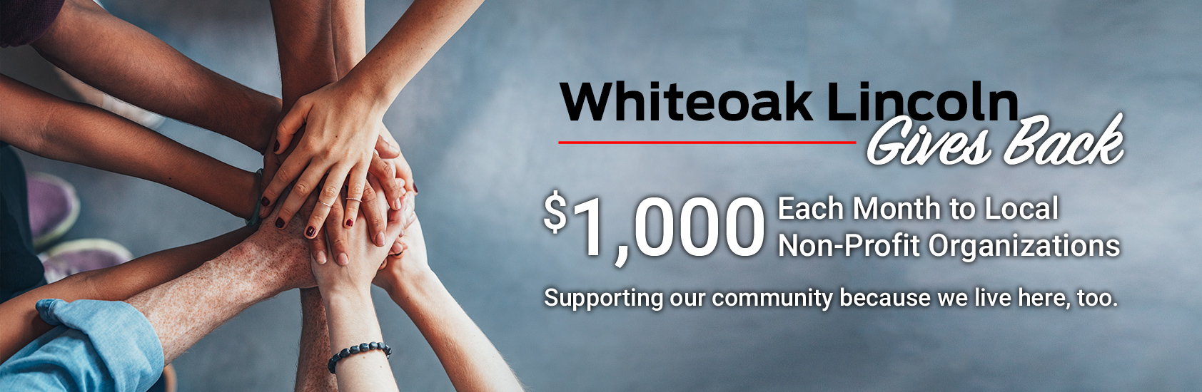 Whiteoak Lincoln Gives Back