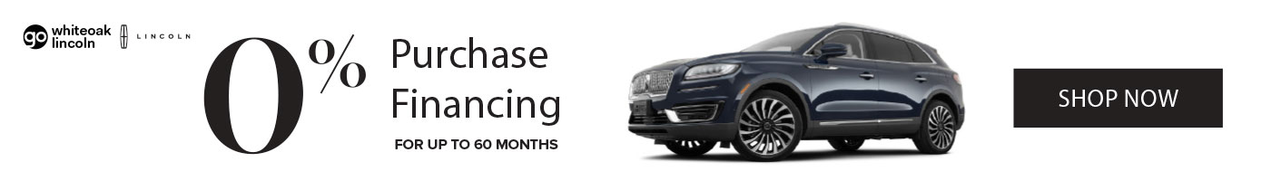 Lincoln Nautilus 0% Financing Promotion