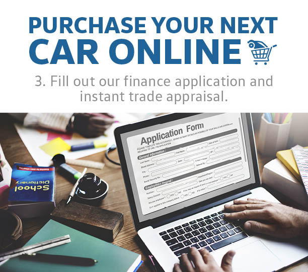 Fill Out Our Finance Application And Instant Trade Appraisal