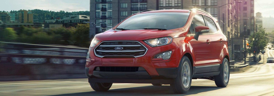 2018 Ford Ecosport at Listowel Ford
