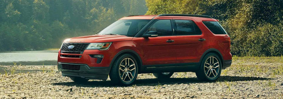 2018 Ford Explorer at Listowel Ford