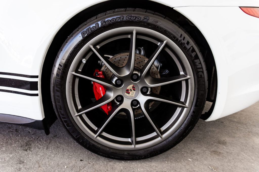 2014 Porsche 911 Carrera S Wheel