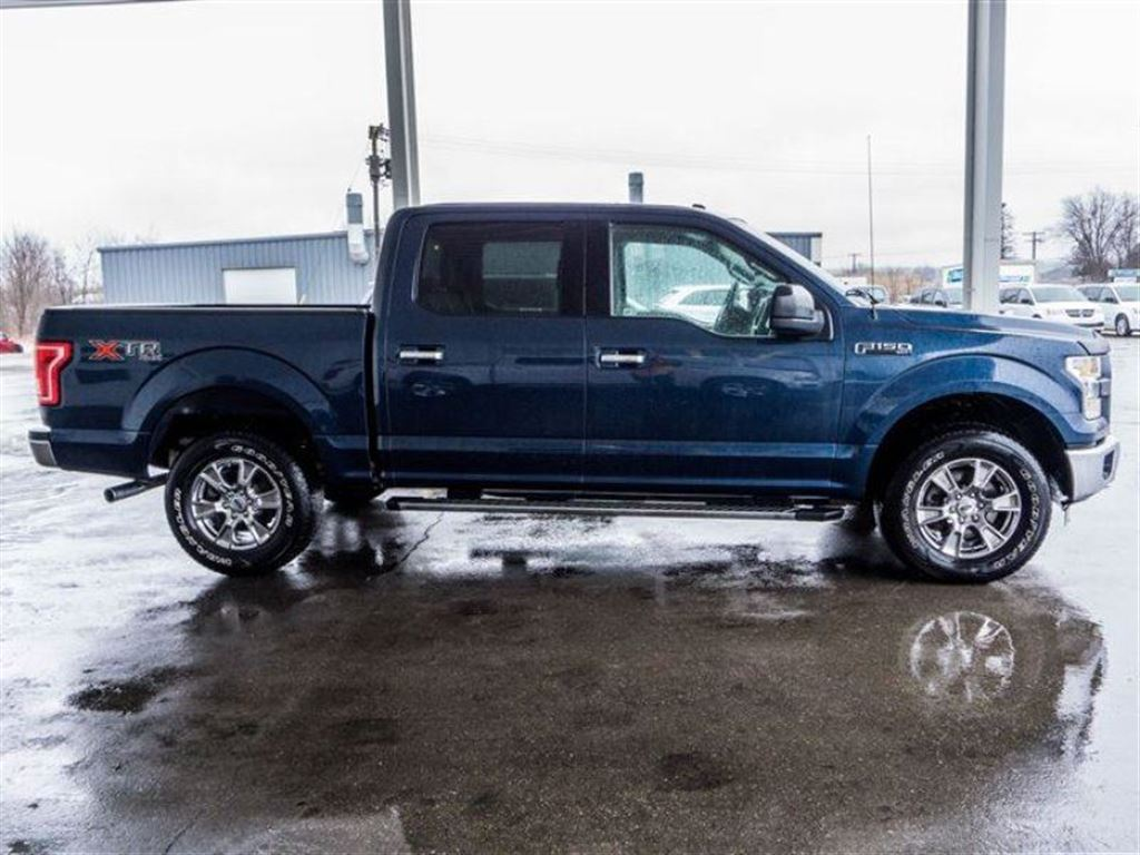 Side Profile of 2016 Ford F150 Supercrew at Listowel Ford