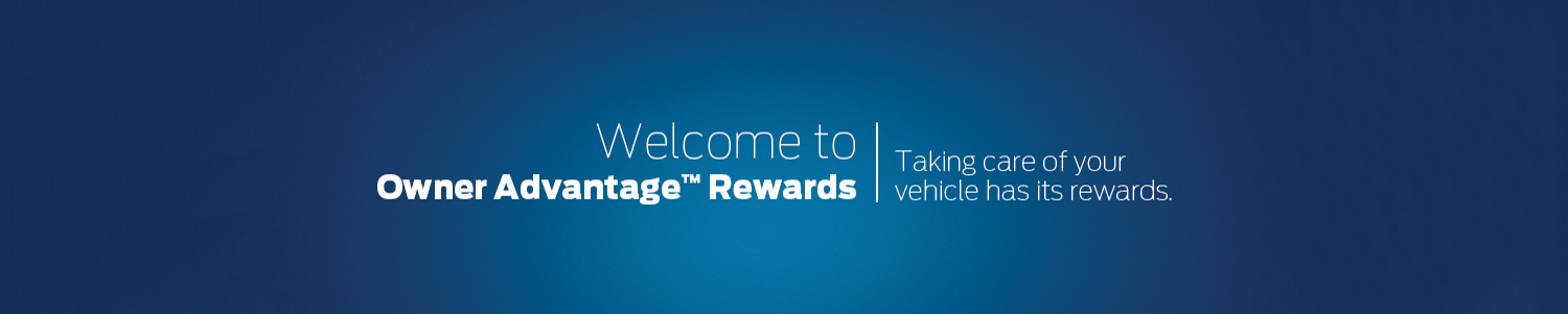 Welcome to Owner Advantage Rewards at Listowel Ford