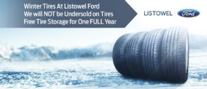 Listowel Ford WInter Tires ad Mobile Version
