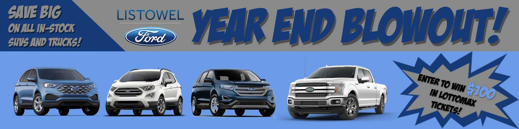 Listowel Ford End of Year Blowout