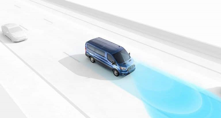 2019 Ford Transit Van features Lane Keeping Alert with Driver Alert