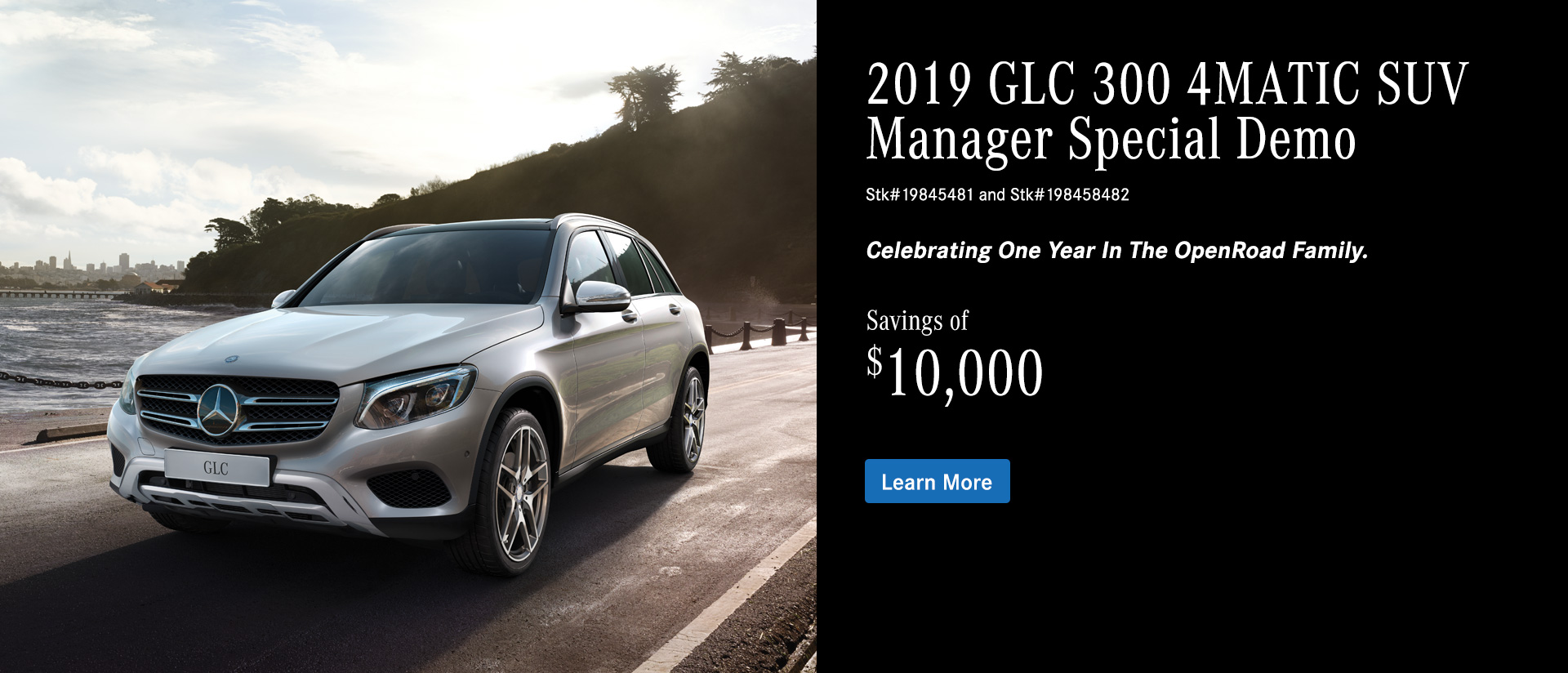 2019 GLC 300 Manager Special Demo in Mercedes Benz Surrey