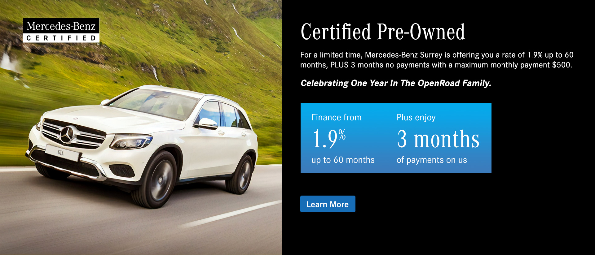 Mercedes Benz Surrey Certified Pre-owned