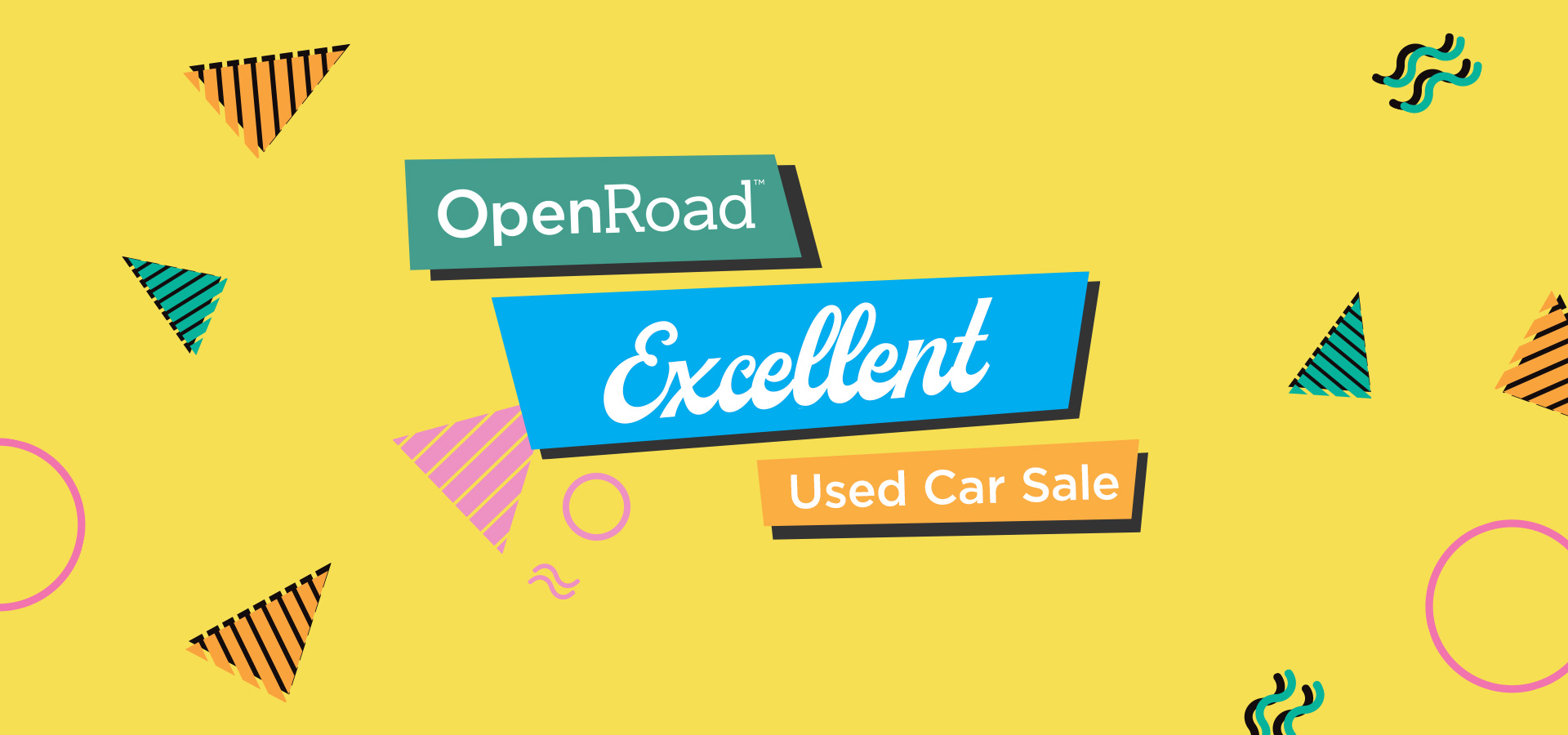 The OpenRoad Excellent Used Car Sale