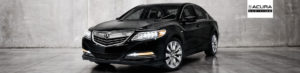 Black 2016 Acura RLX front view