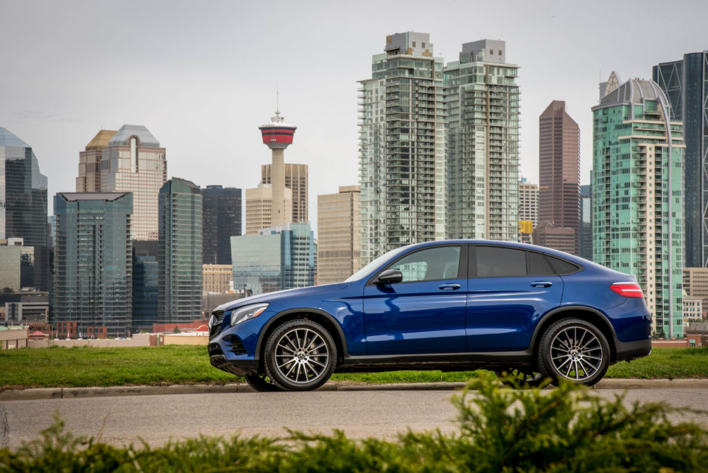 Mercedes-Benz Downtown Calgary GLC300 Coupe