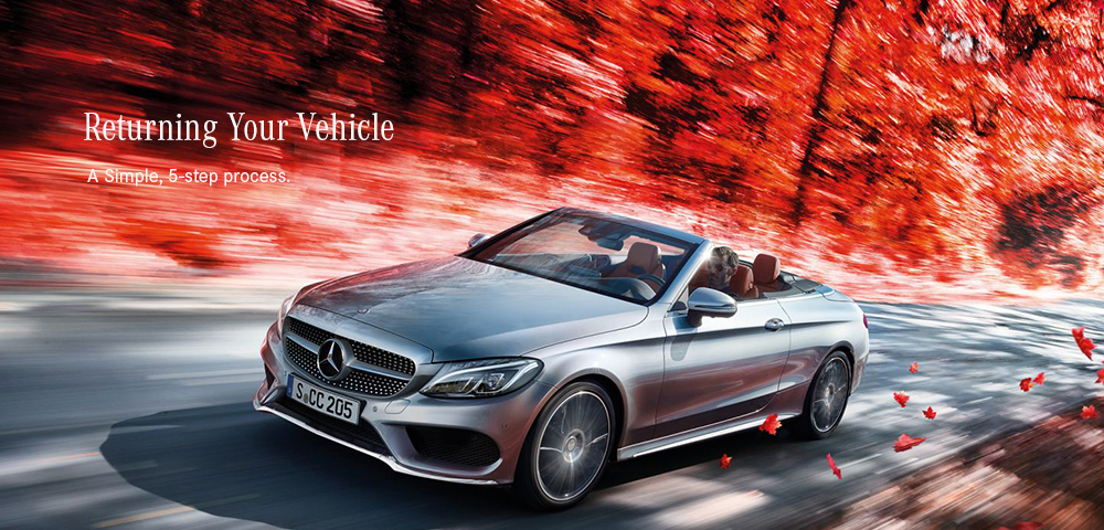 Returning Your Vehicle to Mercedes-Benz Downtown Calgary