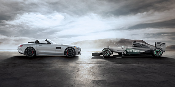 Mercedes-Benz AMG GT Roadster - History in Action