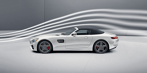 Mercedes-Benz Roadster - Sculpted to Harness the Wind