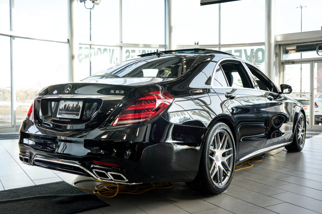 Mercedes-AMG S63 4MATIC+ | Back